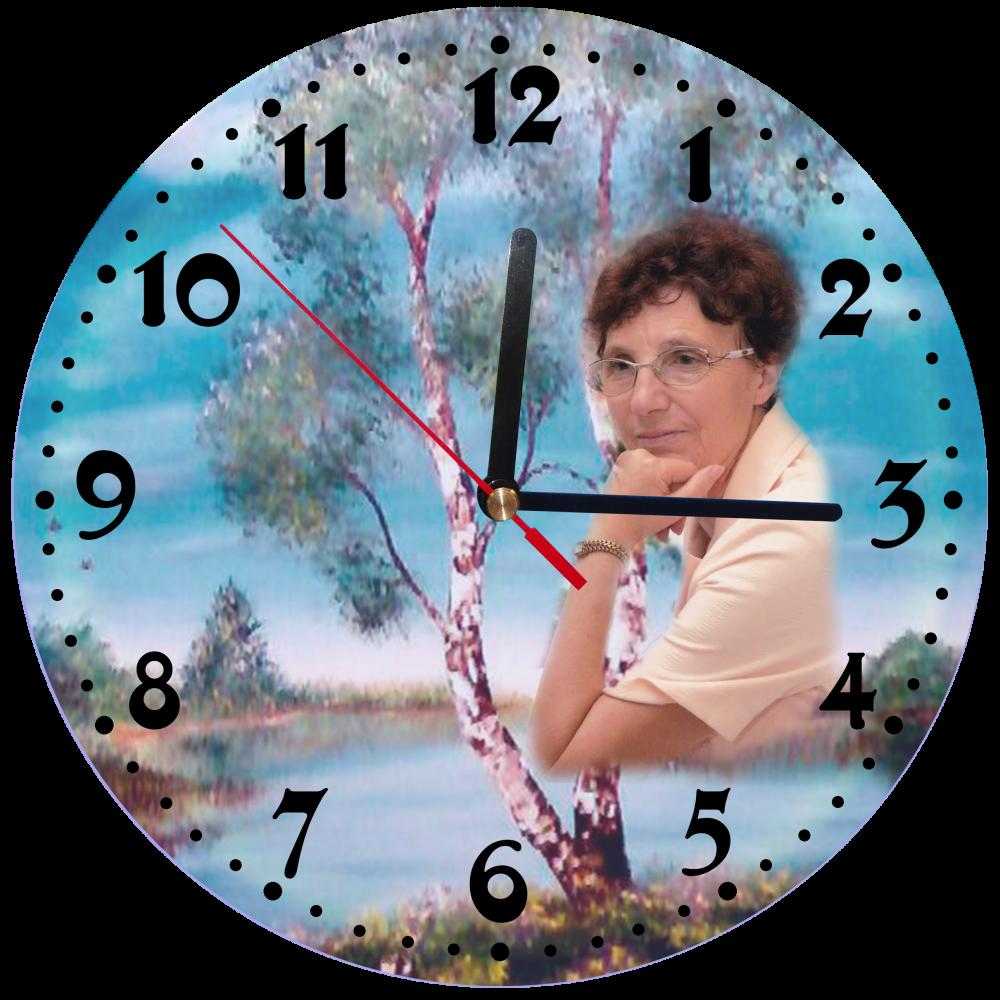 Подарки с фотографией часы 135
